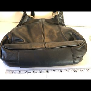 Coach Bags - Coach Black Leather Campbell Hobo Bag